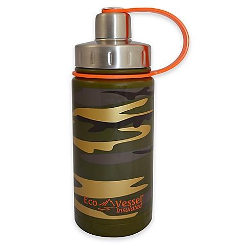 Vessel 174 twist 13 oz stainless steel kids water bottle in camouflage