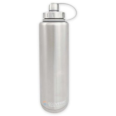 Eco Vessel® BIGFOOT 45 oz. Insulated Stainless Steel Water Bottle in Silver