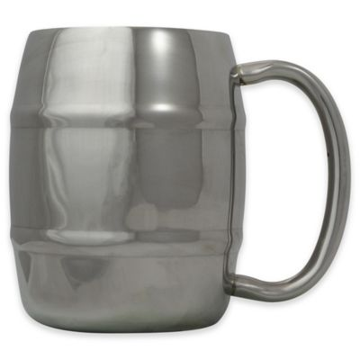 Eco Vessel® Double Barrel 8 oz. Stainless Steel Espresso/Whiskey Mug