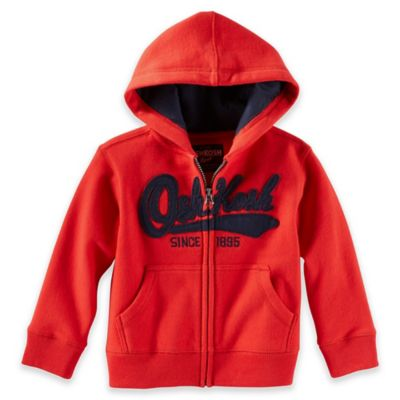 OshKosh B'gosh Size 6M Logo Hoodie in Orange