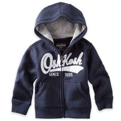 OshKosh B'gosh Size 6M Logo Hoodie in Navy