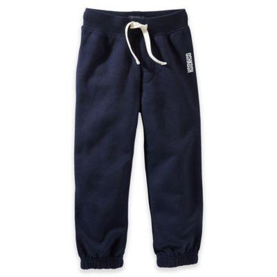 OshKosh B'Gosh® Size 2T Vintage Fleece Pants in Navy