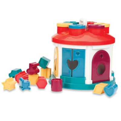 Battat® Shape Sorter House