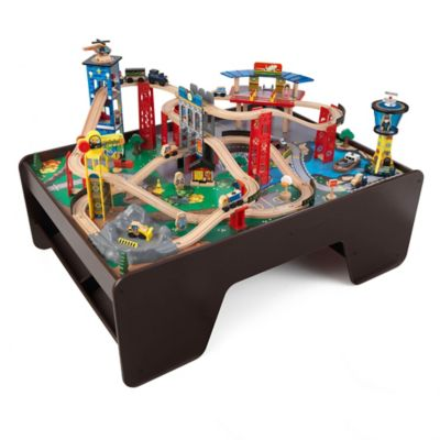 KidKraft® Super Highway Train Set and Table
