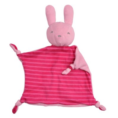 green sprouts® by i play.® Dream Window Cotton Bunny Blankie in Pink