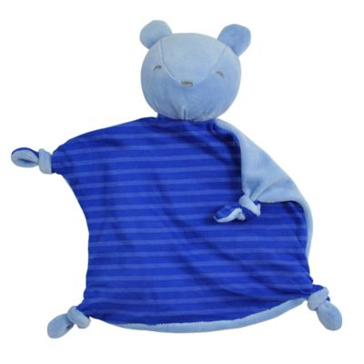 green sprouts® by i play.® Dream Window Cotton Bear Blankie in Royal Blue