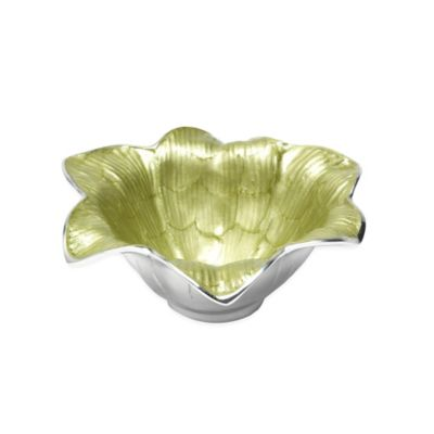 Julia Knight® Flowers Lily 8-Inch Bowl in Kiwi