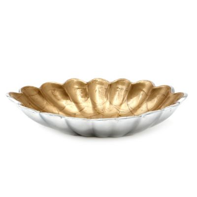 Julia Knight® Peony 8-Inch Oval Bowl in Toffee