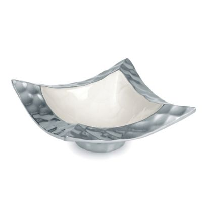 Julia Knight® Diamond 6.5-Inch Pagoda Bowl in Snow