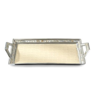 Julia Knight® Classic Handled Tray in Snow