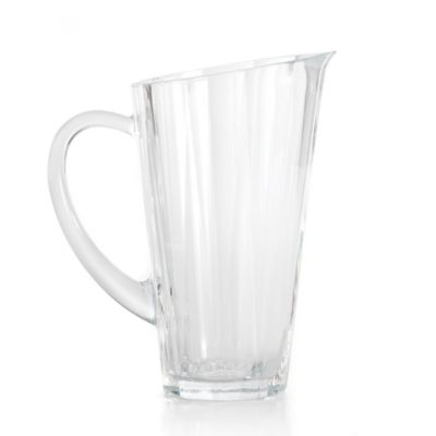 Clear Crystal Pitcher