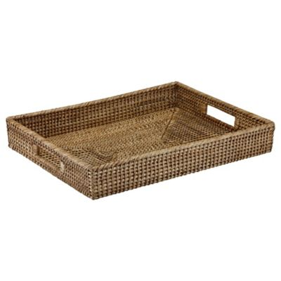 The French Chefs™ Rattan Rectangular Tray