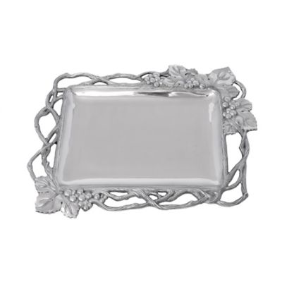 Arthur Court Grape Open Vine Large Rectangular Tray