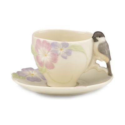 Lenox® Blossoms and Birds™ Teacup and Saucer