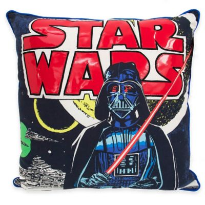 Star Wars™ Classic Logo Square Throw Pillow