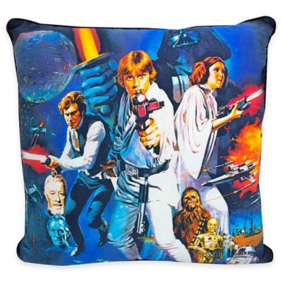 Star Wars™ Classic Retro Square Throw Pillow