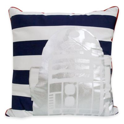 Star Wars™ Classic R2-D2™ Square Throw Pillow