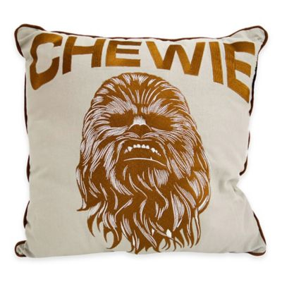 "Star Wars™ Classic ""Chewie"" Square Throw Pillow"