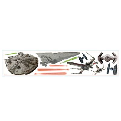 Star Wars™ Episode VII Space Ships Peel and Stick Wall Decals