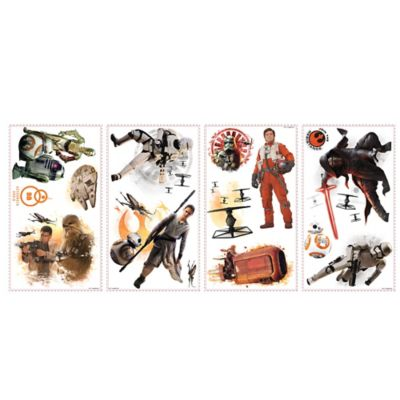 "Disney® Star Wars™ ""The Force Awakens"" Peel and Stick Wall Decals"