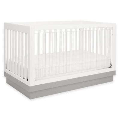 Babyletto Harlow 3-in-1 Convertible Crib with Acrylic Front Slats