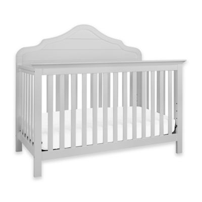 DaVinci Flora 4-in-1 Convertible Crib in Fog Grey