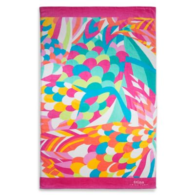 Trina Turk® Tropical Paradise Beach Towel