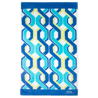 Trina Turk® Barstow Printed Beach Towel