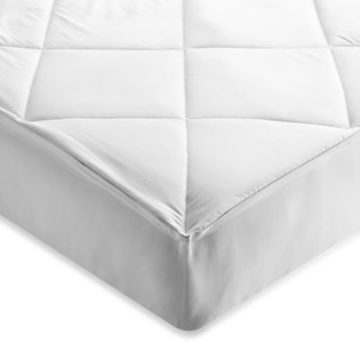 Brookstone® Outlast Twin Mattress Pad in White