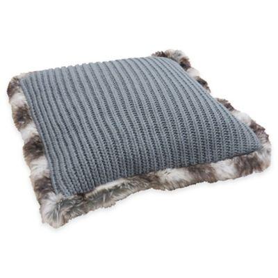 Faux Fur Trim Pillows