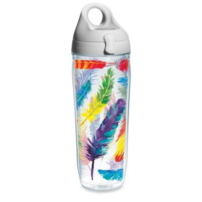 Tervis® Colorful Flock 24 oz. Water Bottle with Lid