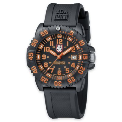 Luminox® Evo Navy Seal Men's 44mm Black Dial Sport Watch
