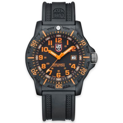 Luminox® Black Ops Carbon Series Men's 44mm Black Dial Diving Watch