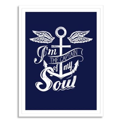 Captain of My Soul Large Canvas Wall Art