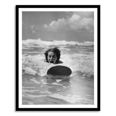 Newquay Surf Large Photographic Wall Art