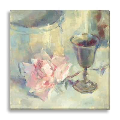 A Cup of Good Cheer by Suzanne Stewart Medium Canvas Wall Art