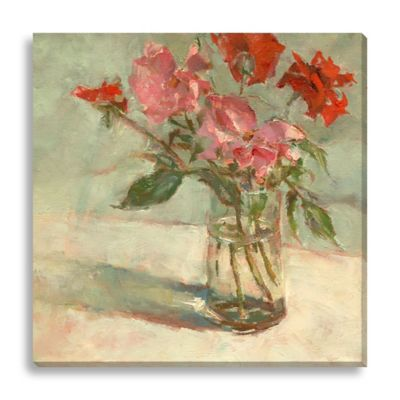 Daddy's Roses II by Suzanne Stewart Medium Canvas Wall Art
