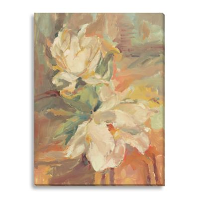 Magnolia II by Suzanne Stewart Large Canvas Wall Art