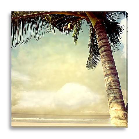 Vintage Palm Tree I Canvas Wall Art Www Bedbathandbeyond Com