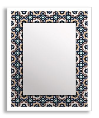 Bold Geometry II Framed & Printed Mirror Wall Art