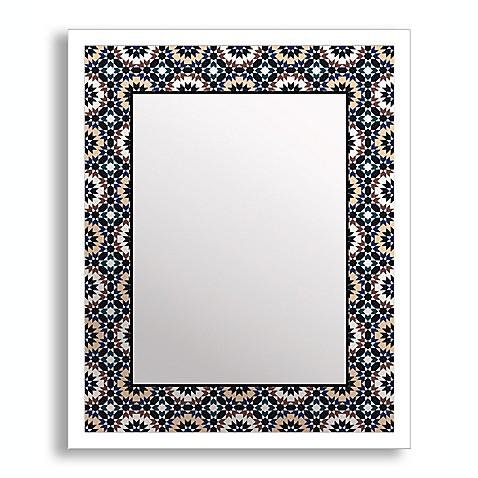 Bold Geometry II Framed Printed Mirror Wall Art Bed Bath Beyond