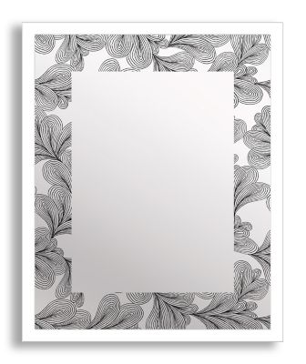 Flourish Framed & Printed Mirror Art