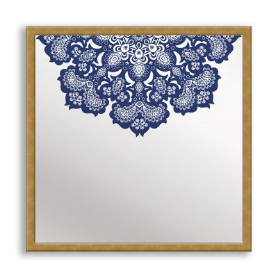 Designs in Lace Framed & Printed Mirror Art
