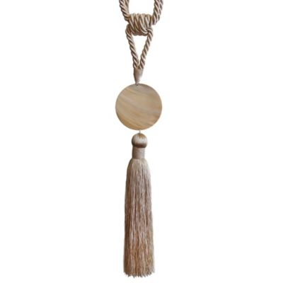 Coastal Shell Tassel Tie Back