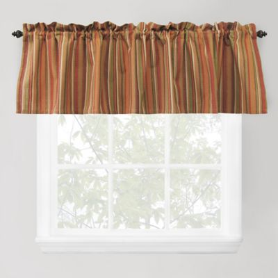 Park B. Smith Raynier Window Valance in Tuscany