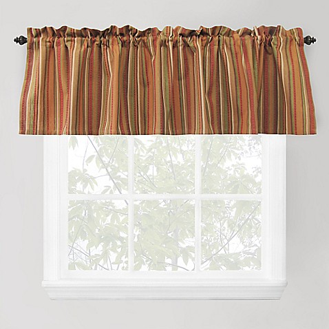 Park b smith raynier window valance in tuscany from bed bath amp beyond