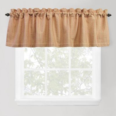 Park B. Smith Cortina Window Valance in Gold