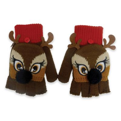 Christmas Reindeer Gloves