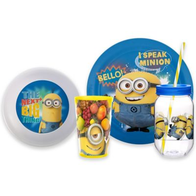 Despicable Me 2 Minions 4-Piece Drinkware Set