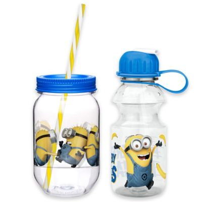 Despicable Me 2 Minions 2-Piece Drinkware Set